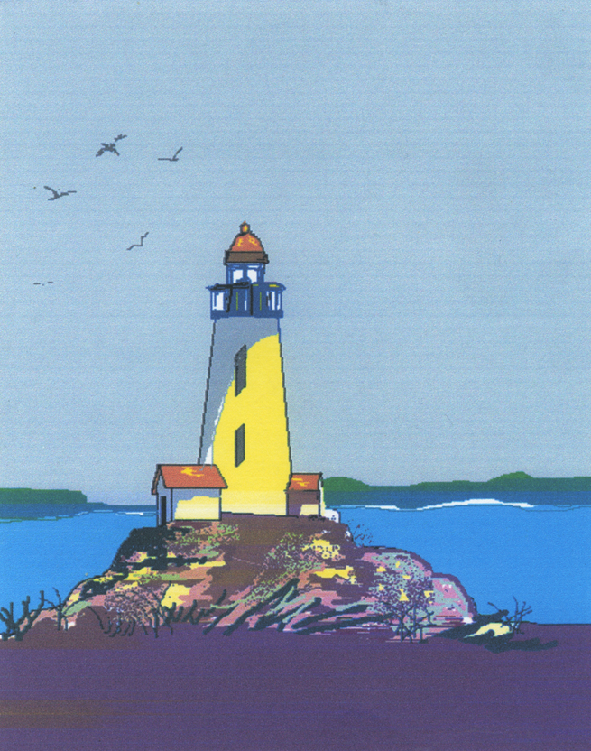 Lighthouse Airbrush Paintings http://carmenbianco.com/lighthouse